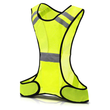 Cycling Reflective Vest LED Running Outdoor Safety Jogging B