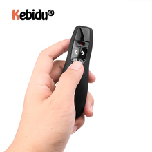 Latest Handheld R400 2.4Ghz USB Wireless Presenter PPT Remote Control With Red Laser Pointer Pen For Powerpoint Presentation