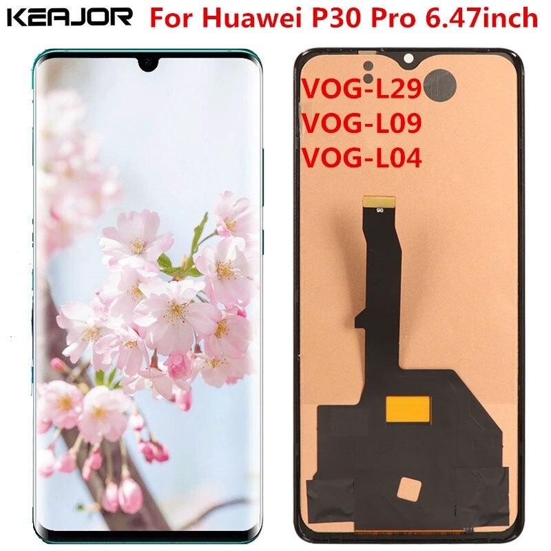 Для Huawei P30 Pro ЖК экран протестированный AAA ЖК дисплей + сенсорный экран Замена для Huawei P30 Pro VOG L29 L09 L04 6,47 дюймов