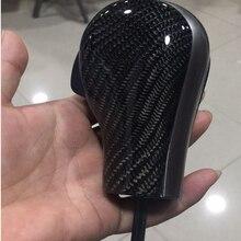 Pommeau de levier de changement de vitesse automatique, noir/argent/carbone, pour BMW E46, E60, E39, E83, E53, E61, 3, 5, 7, X
