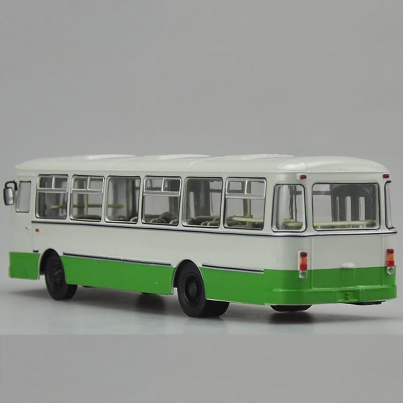 1/43 échelle Bus russe en alliage de métal Tram Bus modèle moulé sous pression voiture enfant modèle jouet enfants véhicule trafic outils Collection de cadeaux - 2