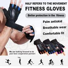 Fitness-Gloves Sports for Men And Women Weightlifting Strength Half-Finger Anti-Slip