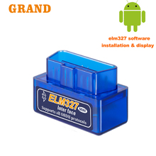 OBD2 ELM327 V 1.5 OBD2 Bluetooth OBD2 Scanner Auto Diagnostic Tool Code Reader Voor Android Auto Scanner Automotive Auto Tool