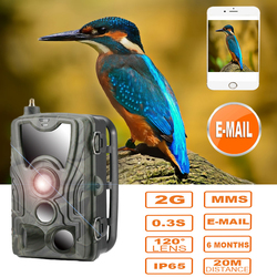 SUNTEKCAM  MMS/SMTP/SMS HC801M 2g hunting Trail Camera Wildlife  photo traps 16MP 0.3S Trigger Hunter camera noturna deer feed