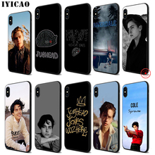 IYICAO Riverdale Soft Black Silicone Case for iPhone 11 Pro Xr Xs Max X or 10 8 7 6 6S Plus 5 5S SE
