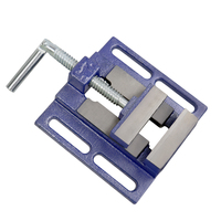 Bench Vise Drill Press Milling Machine Table Clamp Flat Bench Vise Vise Tool Workshop Tool Machine Tools Accessories