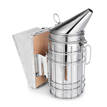 TTLIFE Stainless Steel Beekeeping Bee Hive Smoker Kit Heat Shield Protection Scraper Equipment Tools Set Apiculture Accessories