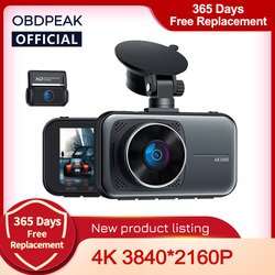 OBDPEAK M8 Car DVR Dash Cam 4K Ultra HD 3