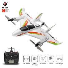 Wltoys xk x450 rc avião 2.4g 6ch 3d/6g brushless motor vertical decolagem de luz led remoto contro planador asa fixa aeronaves