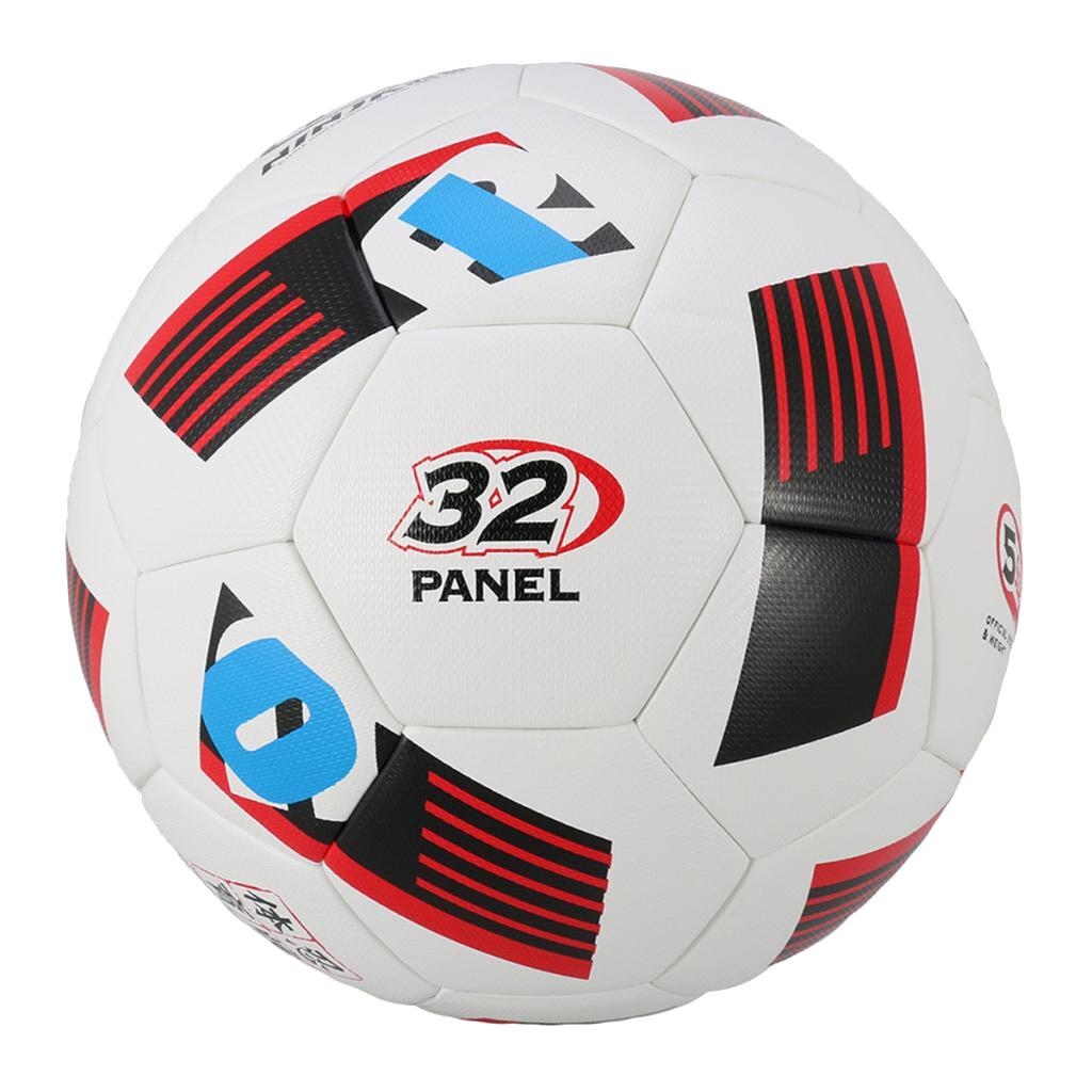 Football Soccer Ball Size 5 Standard PU Indoor Outdoor Training Balls