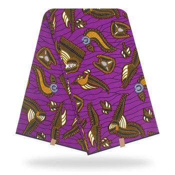New Holland Wax Print Fabric new Pattern Ankara African Batik Z707