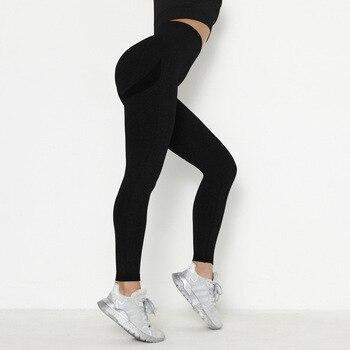 RUUHEE Seamless Legging Yoga Pants Sports Clothing Solid High Waist Full Length Workout Leggings for Fittness Yoga Leggings 28