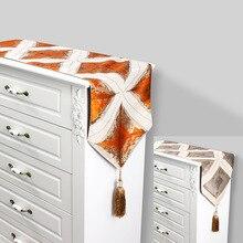 32cmx210cm High-grade jacquard table flag Party Decoration tablecloth 100% polyester hotel decoration cloth