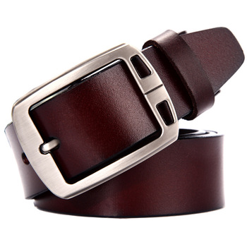 Mens Classic Genuine-Leather Belts