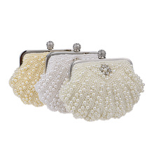 luxury handbags women bags designer New pearl embroidered dinner bag lady fashion evening dress clutch