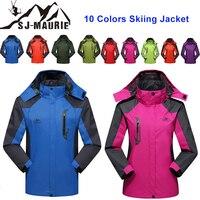 SJ Maurie L 4XL Ski Suit Jacket Couple Windbreaker Snowboarding Breathable Men Women Winter Sports Jacket Hiking Snowing Sets
