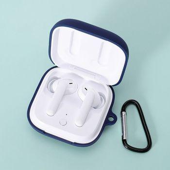 2020 staubdicht Silikon Schutzhülle Volle Kopfhörer Abdeckung für OPPO ENCO W51 Headset Bluetooth Kopfhörer 65*60*30mm