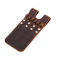 Back Pocket Quiver Horse Leather Pocket Quiver for Holding 6 Pieces   Recurve Compound Bow for Archery Hunting|Bow & Arrow| |  -