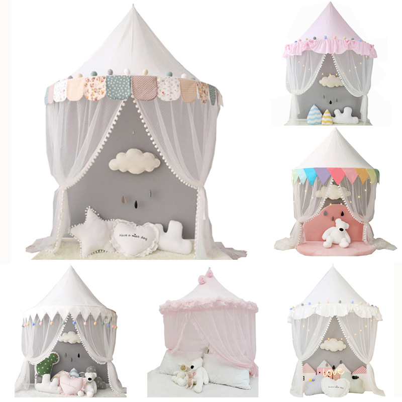 Baby Mosquito Net Bed Canopy Play Te