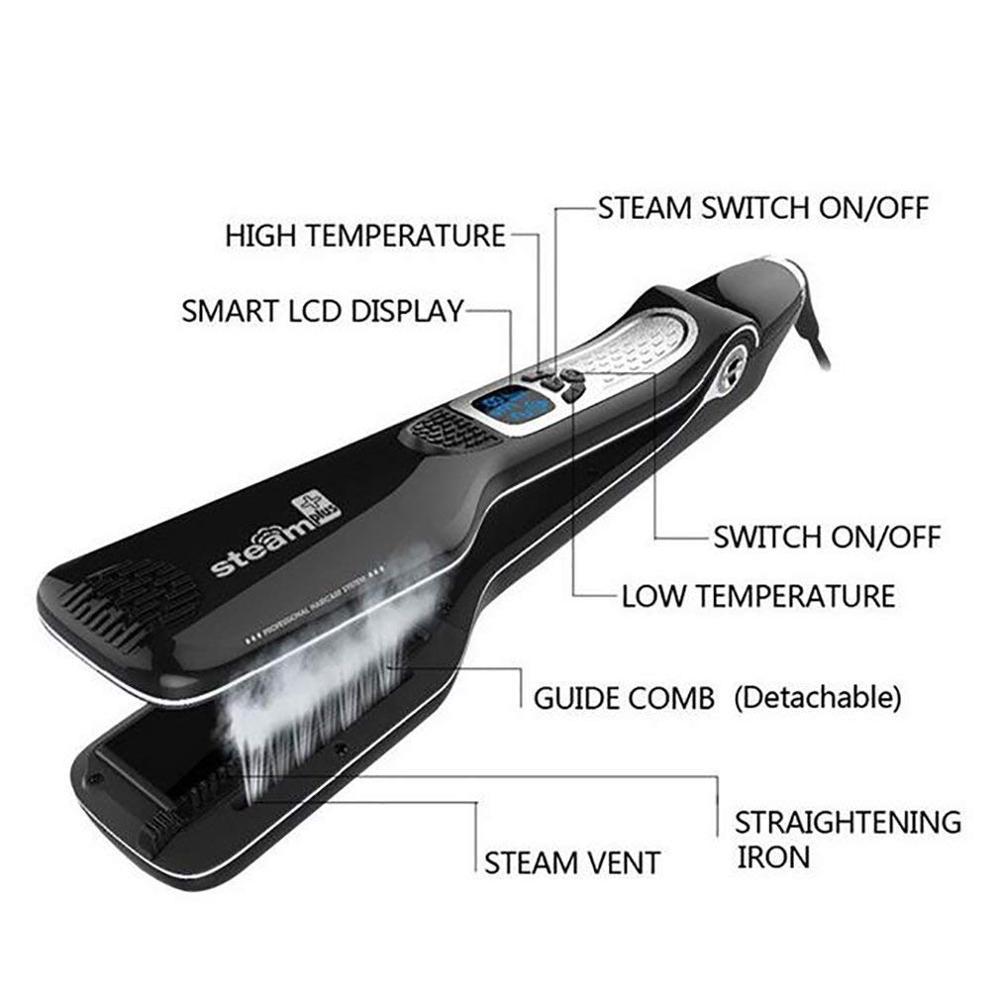 cabelo vapor alisamento plana ferro rapido ferramentas estilo cabelo 03