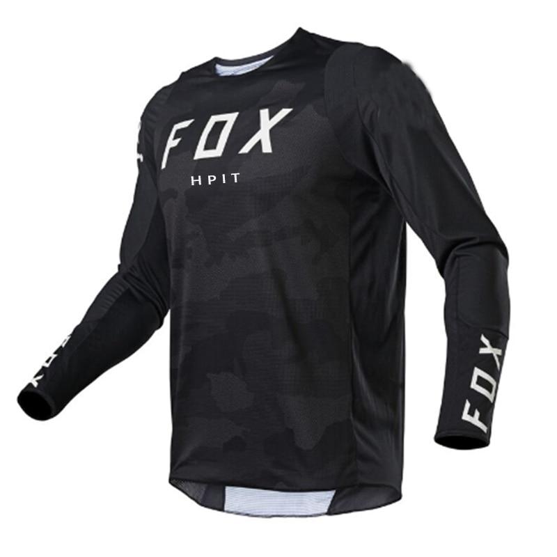 Футболка для велоспорта Fox Maillot, осенняя футболка для велоспорта, одежда для велоспорта Gp Xc, футболка для горного велосипеда, Кросса Dh Mtb, Bmx, ...