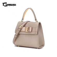 Brand Design Women Genuine Leather Shoulder Bag 2019 Chic Style Elegant Office Lady Messenger Bag Daily Ladies Handbag Cowskin lacattura 2017 new arrival it bag fashion brand design handbag women genuine leather cloe bag real cowskin shoulder bag
