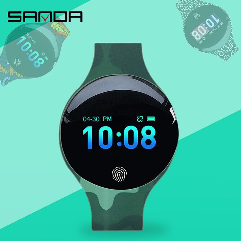 SANDA-montre de Sport pour femmes, étanche, calorimètre, Bracelet, luxe, moniteur de sommeil, GPS, pour Android et IOS 2
