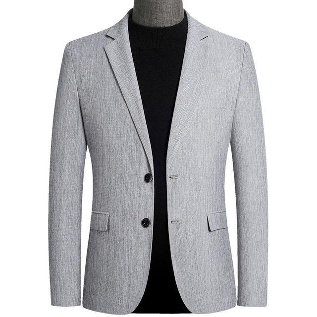 Mens Slim-Fit Casual Suit-Coats