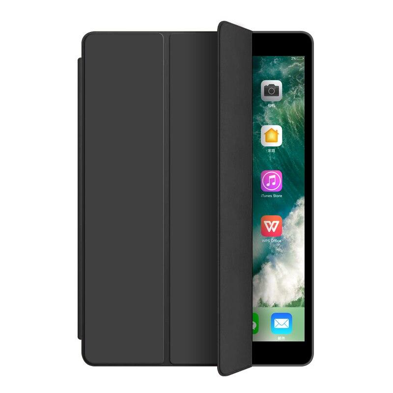 Black Red Utrl Slim Trifold Coque for iPad 7th iPad 10 2 Case Smart A2200 A2198 A2233 Auto
