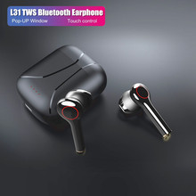 L31 Tws Bluetooth 5.0 Earphone HiFi Earbud Nirkabel Headphone untuk iPhone Xiaomi Redmi Samsung Headset Case 9D Suara Stereo(China)