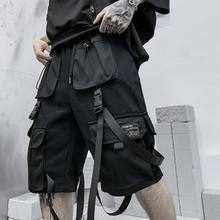 Мужские летние шорты-карго в стиле хип-хоп, повседневные шорты в уличном стиле, шорты-бермуды в стиле Харадзюку