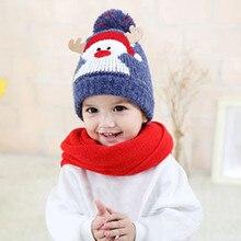 Hat Baby Winter Kids Beanie For Girls Boy Cap Cotton Knitted Ball Warm Christmas Hats newborn photography propsczapki dla dzieci janusz niżyński bajki dla dzieci stories for kids