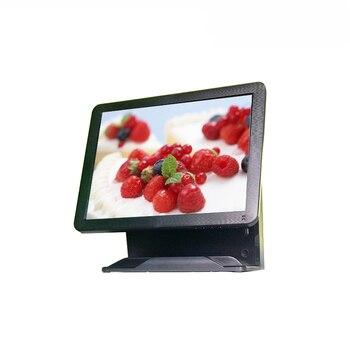 PC computer monitor desktop retail restaurant supermarket pos terminal pos system 15 inch resistive cash register