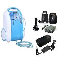 1 5L مكثف الأوكسجين المحمول الأكسجين البنك آلة الأكسجين للمنزل/سيارة/بطارية استخدام أجهزة التنفس
