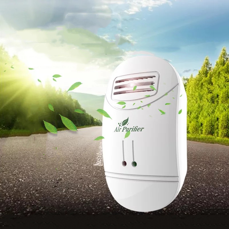 Home Negative Ion Generator Air Cleaner Remove Formaldehyde Smoke Dust Purification Home Room Deodorize Ionizer Air Purifier