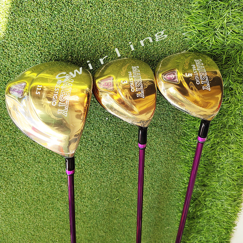 Golf Wood Set New Golf Clubs Maruman Majestic Prestigio 9 Women's  Driver-Fairway Wood Graphite Shaft L Flex Free Shipping