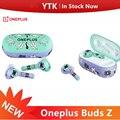 Original OnePlus Knospen Z Drahtlose Kopfhörer IP55 Wasser-beständig 20 stunden von batterie Bluetooth 5,0 für Oneplus 8T 8 pro Nord