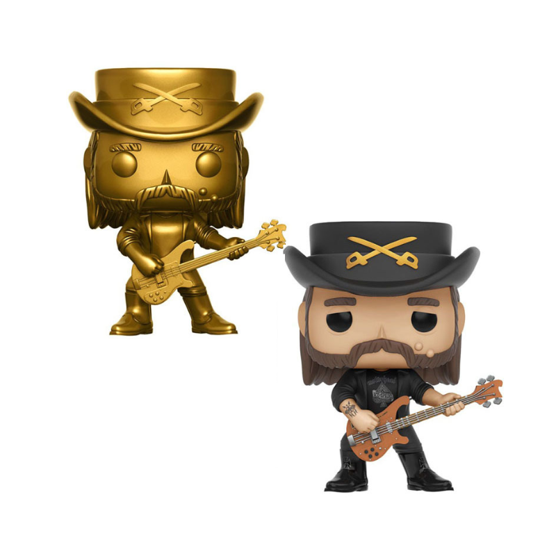 Singer Lemmy Kilmister Action Figures Motorhead Model Collection Kids Toys Birthday Party Gifts