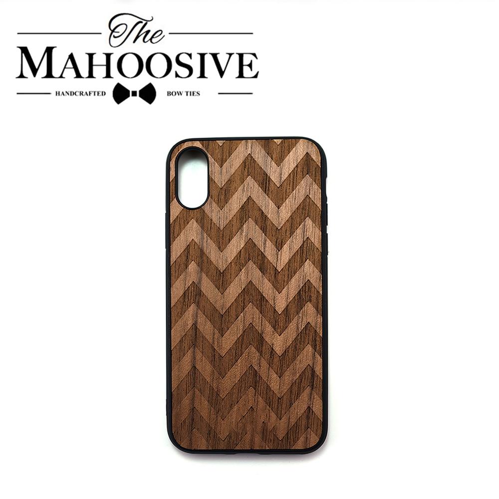 Caso di Protezione in legno Per il iPhone 11 Pro XS Max X SE 2 Noce modello Regalo Fatto A Mano In Legno Per il iPhone XR 6 S 7 8 Più Opaca Della Copertura