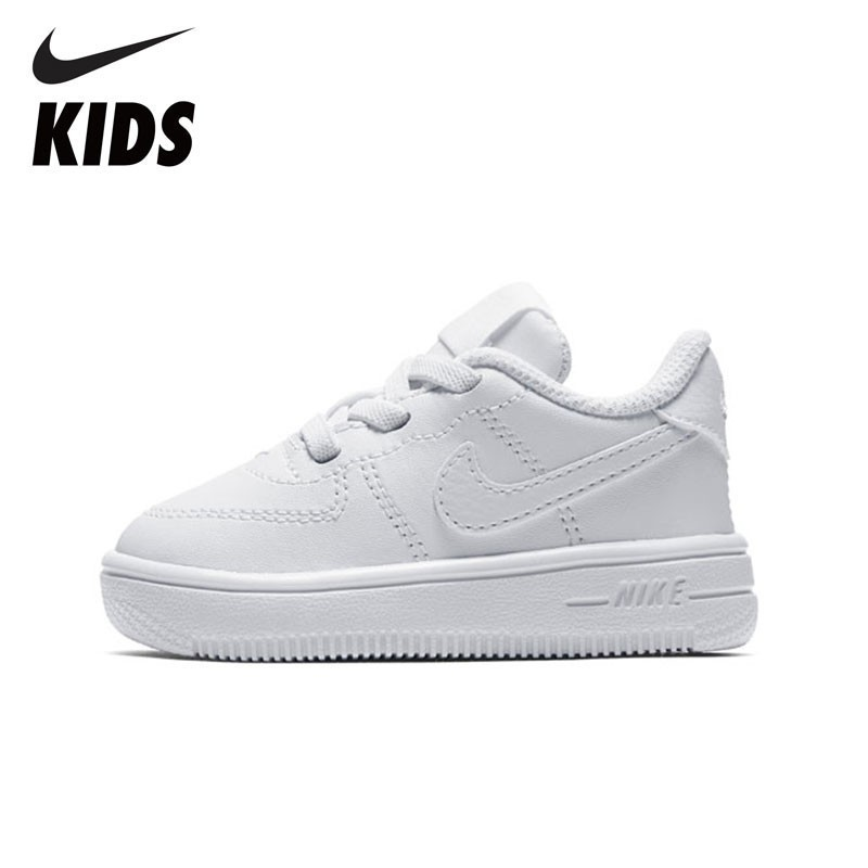 NIKE FORCE 1 Original Kids Shoes Comfortable Children Running Shoes Breathable Sports Sneakers #905220-100
