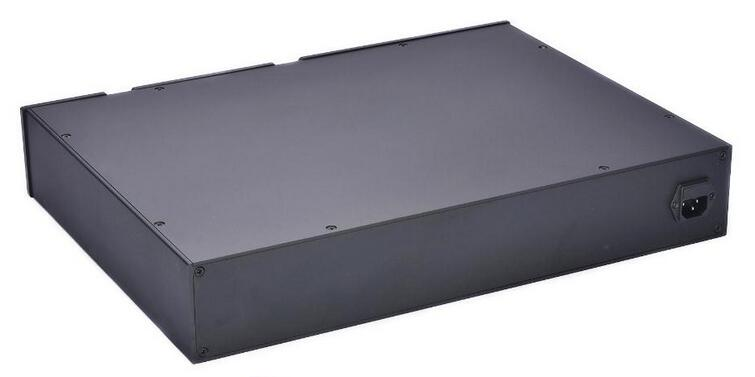 MC4808 All Aluminum Chassis High Quality Preamplifier Enclosure Amplifier Audio Case Diy Box 480*80*358mm