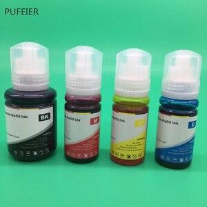 Image 3 - 4PCS 502 102 104 T502 T102 T104 Refill Farbstoff Tinte Kits Für Epson ET 2700 ET 2710 ET 2711 ET 2750 ET 3700 ET 3750 ET 4750