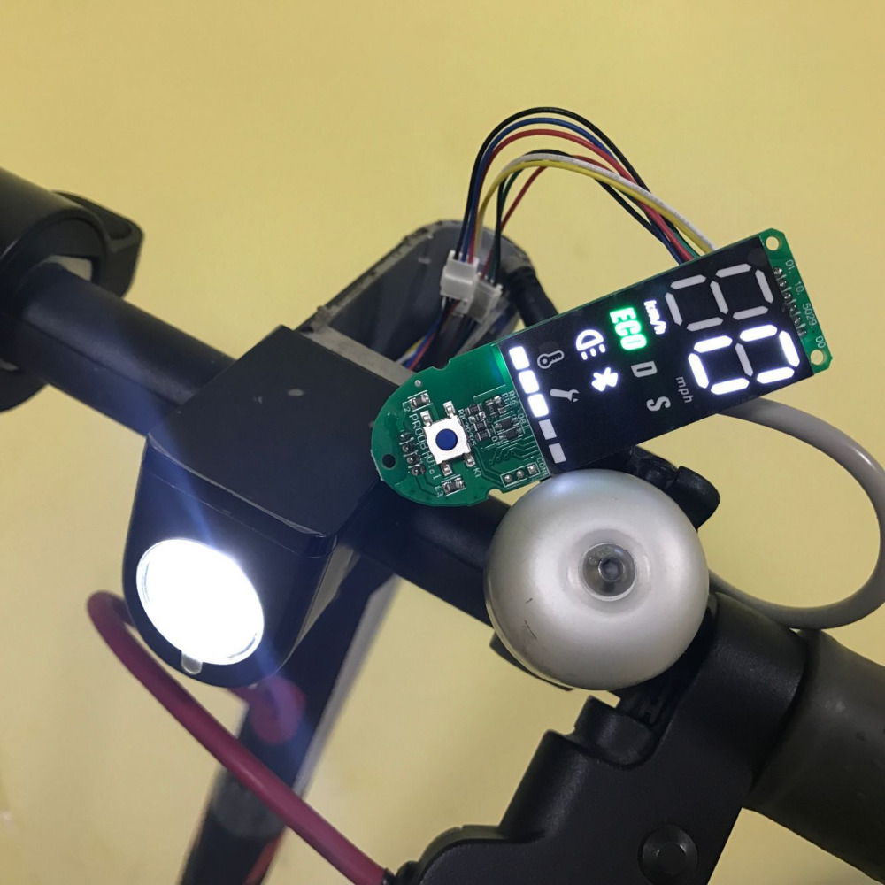 Image 3 - Dashboard for Xiaomi M365 Pro Scooter Circuit Board with Screen Cover for Xiaomi M365 Scooter Dashboard Speed Power Show Parts-in Scooter Parts & Accessories from Sports & Entertainment