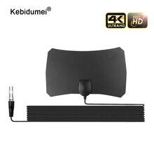 Amplifier-Booster Tv-Antenna Digital Receiver HDTV Signal Mile Indoor 200 1080p Kebidumei