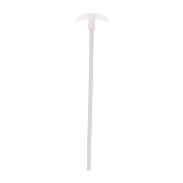 PTFE Beschichtet Edelstahl Rühren Paddel Rühren Stange Für 100-200ml Glaskolben, High/Low Temperatur Beständig