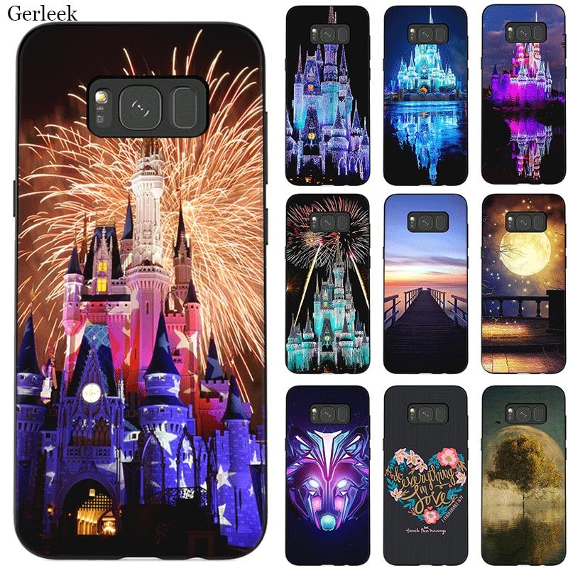 Silicome phone case for sansung A10 A10S A20 A30 A20S A20E A30S A40 A40S A50 A50S A60 A70 A70S Walt Disney World Cute