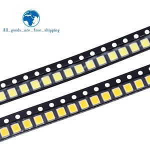 TZT 100pcs 0.2W SMD 2835 LED Lamp Bead 20-25lm White/Warm White SMD LED Beads LED Chip DC3.0-3.6V for All Kinds of LED Light