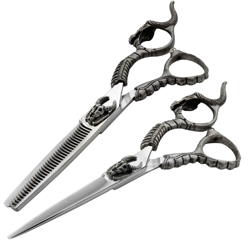 Cold Month Hairdressing Scissors Top Grade Hair Salon Profession Hair Scissors Straight Snips Bangs Thinning Scissors Thinning S