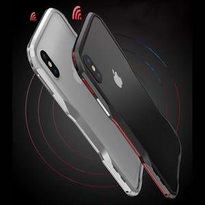 Image 4 - Metal tampon IPhone11 Pro Max 12Pro durumda alüminyum çerçeve koruyucu IPhone XS için Max 7 8 artı kapak tampon iphone XR ev