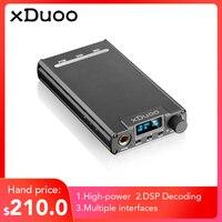 Original XDUOO XD 05 Portable Audio DAC Headphone Amplifier HD ILED Display Professional PC USB Decoding Amplifier